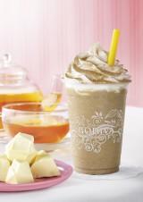 GODIVAの新チョコレートドリンク『ショコリキサー ホワイトチョコレート ピーチティー』
