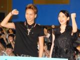 (左から)登坂広臣、能年玲奈 (C)ORICON NewS inc.
