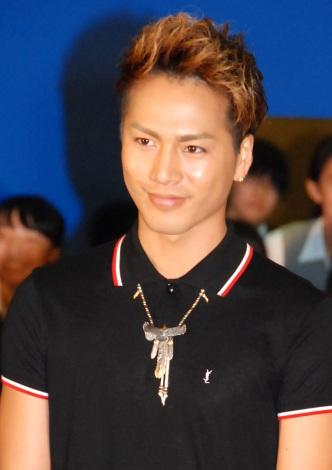 映画『ホットロード』の夏休み特別イベントに出席した登坂広臣 (C)ORICON NewS inc.