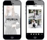 「MURUA」の公式アプリ登場!