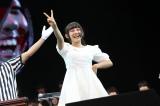 『第5回じゃんけん大会』NMB48予備戦で勝ち名乗りをあげる薮下柊(C)AKS