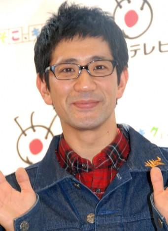 モバイルマガジン『そこ、キク!』記者会見に出席したアンタッチャブルの柴田英嗣 (C)ORICON NewS inc.