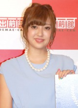 『第2回デリメングランプリ』授賞式に出席した菊地亜美 (C)ORICON NewS inc.