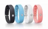 活動量、消費カロリー、睡眠など、健康的なダイエットに必要な情報を管理してくれるリストバンド型活動量計「WERAM1100」(東芝)
