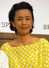 舞台『ジュリエット通り』製作発表に出席した渡辺真起子 (C)ORICON NewS inc.