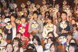 (左から)及川光博、片桐はいり、向井理、山本美月、西田征史監督=映画『小野寺の弟・小野寺の姉』完成披露試写プレミア上映会