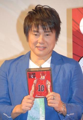 桜木花道役の声優・草尾毅=『SLAM DUNK Blu-ray Collection』発売記念ファンミーティング (C)ORICON NewS inc.