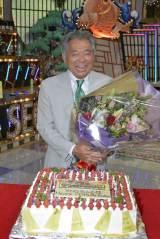 読売テレビ『秘密のケンミンSHOW』収録後に古希の誕生日を祝われたみのもんた