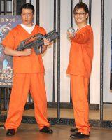 映画『ガーディアンズ・オブ・ギャラクシー』牢獄アフレコ・イベントに出席した(左から)加藤浩次、山寺宏一 (C)ORICON NewS inc.