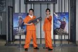 映画『ガーディアンズ・オブ・ギャラクシー』牢獄アフレコ・イベントに出席した(左から)加藤浩次、山寺宏一