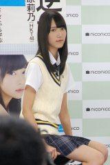 トークイベントに登壇したHKT48・田中菜津美 (C)ORICON NewS inc.