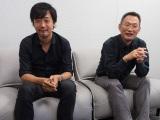 山崎貴監督(左)と八木竜一監督(右) (C)ORICON NewS inc.