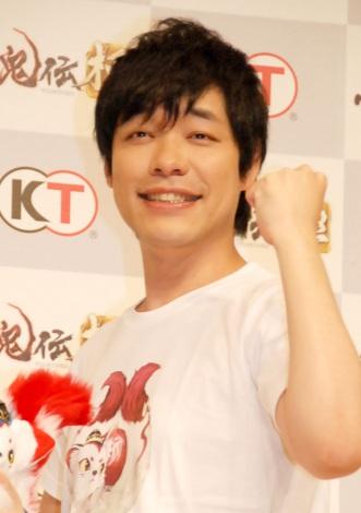 ゲーム『討鬼伝 極』完成発表会に出席した麒麟・川島明