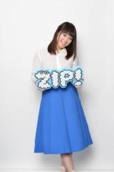 9月29日より『ZIP!』に登場する北乃きい (C)日本テレビ