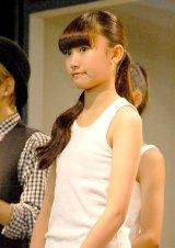 『東京 GIRLS AUDITION 2014 AUTUMN/WINTER Powered by Ameba』ファイナリストの中村りおん (C)ORICON NewS inc.