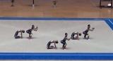 ハイレベルな演技を披露する鹿児島実業高校・新体操部