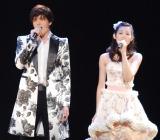 (左から)城田優、フランク莉奈 (C)ORICON NewS inc.