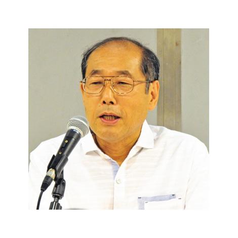 """『IRフォーラム2014東京』で行われた講演会で、最近の""""優待ブーム""""について語った桐谷広人氏。 (C)oricon ME inc."""