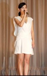 映画『海を感じる時』完成披露試写会に出席した主演の市川由衣 (C)ORICON NewS inc.