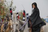 新潟県上越市で行われた『第89回 謙信公祭 -義の魂 永遠に-』に上杉謙信役で出演したGACKT