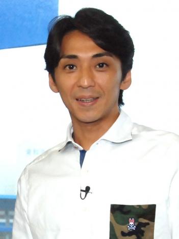 BSフジ『たけしの等々力ベース』の取材会に出席した森且行選手 (C)ORICON NewS inc.