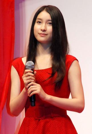 ロッテ『ガーナ チョコびらきセレモニー2014』に出席した土屋太鳳