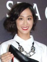 シューズブランド『STACCATO』ローンチパーティーに出席した優香 (C)ORICON NewS inc.