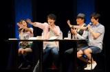 第98回公開収録にゲストで登場したのは中田譲治(左から3番目)。KAMEN RIDER GIRLS オーズ担の井坂仁美も参加して熱いトーク。
