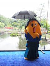傘をさすとト○ロみたいになるナナナ (C)ORICON NewS inc.