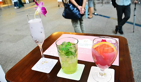サムネイル カフェ「シード Eye coffret Cafe」のオリジナルカクテル (C)oricon ME inc.