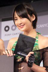 映画『ローン・サバイバー』Blu-ray&DVD発売記念記者会見に出席した鈴木咲 (C)ORICON NewS inc.