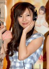 映画『ハニー・フラッパーズ』主題歌公開レコーディングに出席した折井あゆみ (C)ORICON NewS inc.