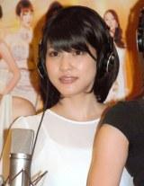 映画『ハニー・フラッパーズ』主題歌公開レコーディングに出席した岸明日香 (C)ORICON NewS inc.
