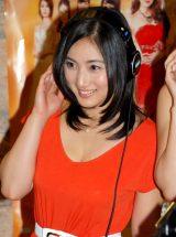 映画『ハニー・フラッパーズ』主題歌公開レコーディングに出席した紗綾 (C)ORICON NewS inc.