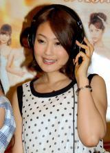 映画『ハニー・フラッパーズ』主題歌公開レコーディングに出席した仁藤みさき (C)ORICON NewS inc.