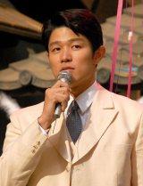 NHK連続テレビ小説『花子とアン』クランクアップ取材会に出席した鈴木亮平 (C)ORICON NewS inc.