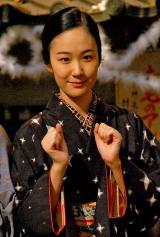 NHK連続テレビ小説『花子とアン』クランクアップ取材会に出席した黒木華 (C)ORICON NewS inc.