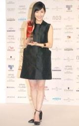 『THE BEAUTY WEEK AWARD 2014』のロングヘアスタイル部門を受賞した渡辺麻友 (C)ORICON NewS inc.