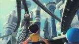 映画『STAND BY ME ドラえもん』21世紀のシーンの背景は夢ある明るい世界観にするためすべてCGで作り出している(C)2014「STAND BY ME ドラえもん」製作委員会