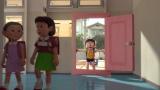 映画『STAND BY ME ドラえもん』どこでもドアもリアルに表現(C)2014「STAND BY ME ドラえもん」製作委員会