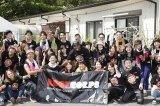 NE-YO、福島の仮設住宅でボランティア