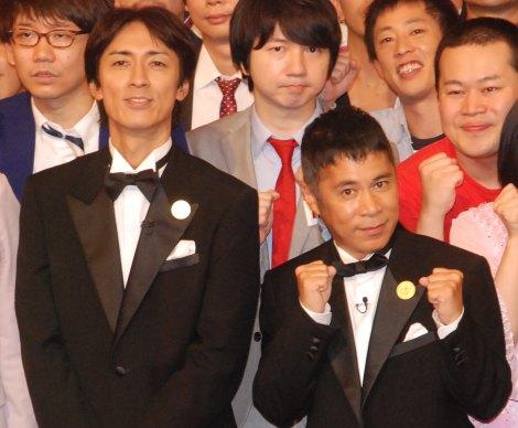 『THE MANZAI 2014』会見で解散説を否定したナインティナイン(矢部浩之・岡村隆史) (C)ORICON NewS inc.