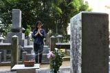NHK大河ドラマ『花燃ゆ』の主人公・楫取美和(吉田松陰の妹・杉文)の命日に墓参りした井上真央
