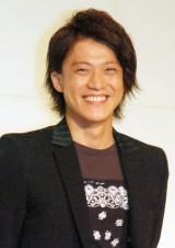 フジテレビ改編説明会にサプライズ登壇した小栗旬 (C)ORICON NewS inc.