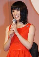NHK朝の連続テレビ小説『まれ』でヒロインに起用された土屋太鳳 (C)ORICON NewS inc.