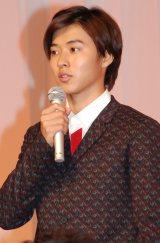 NHK朝の連続テレビ小説『まれ』に出演する山崎賢人 (C)ORICON NewS inc.