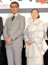 映画『柘榴坂の仇討』で夫婦役を演じている(左から)中井貴一、広末涼子 (C)ORICON NewS inc.
