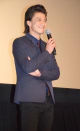 映画『ルパン三世』舞台あいさつに出席した小栗旬 (C)ORICON NewS inc.
