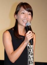 映画『ルパン三世』舞台あいさつでMCを務めたTBS・出水麻衣アナ (C)ORICON NewS inc.