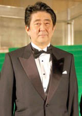 錦織圭選手の健闘を讃えた安倍晋三首相 (C)ORICON NewS inc.
